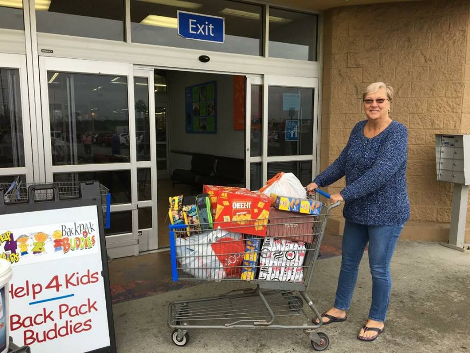 Look what the employees at Home Goods brought us! Thank you for helping us fill our shopping cart at our Walmart Food Drive on Saturday.